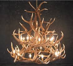 elk 18 antler chandelier for moose inspirations 10