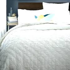 west elm pintuck quilt organic cotton duvet cover