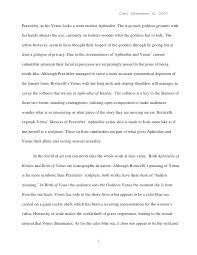 art comparison essay final research paper rough draft i institute  art comparison