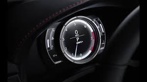 2017 Lexus RC 350 LFA Inspired Instrument Cluster - YouTube