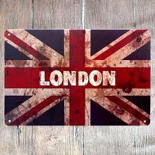 aliexpress com buy vintage home decor london vintage metal tin