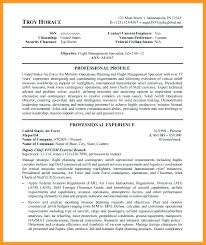 Air Force Resume Air Force Resume Examples Of Resumes Papers ...