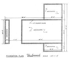 carport foundation details design metal on uneven ground