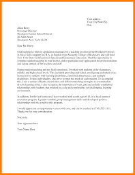 6 Sample Of Application Letter For Teacher Edu Techation
