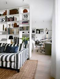 striped sofas living room furniture. Gorgeous White Wooden Shelf Divider For Room Design With Black Striped Sofa Living Including Sofas Furniture