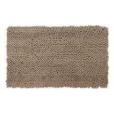astor striped chenille linen 17 in x 24 in plush bath