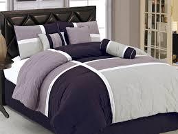 leather headboard design and dark purple gray bedding for queen size magnificent dark purple bedding designs custom decor awesome home interior