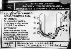 spark plug wire crossfire ford truck enthusiasts forums i have the same problem my 89 f250 302 aod under load it misses drove me nuts trying to figure it out finaly i found this