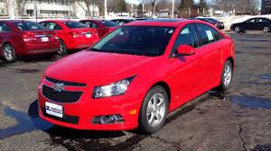 Chevy Cruze Red Hot 1LT in Madison WI at Zimbrick Chevrolet - YouTube