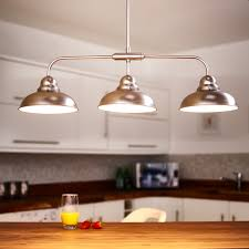 antique pendant lighting. Dar Dynamo 3 Light Bar Ceiling Pendant - Antique Chrome Lighting Direct