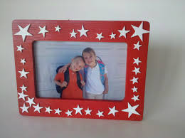 Picture Frame Christmas Wreath  Red And White 2000 Christmas Picture Frame Craft Ideas