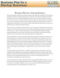 small business startup plan sample executive summary for startup business plan