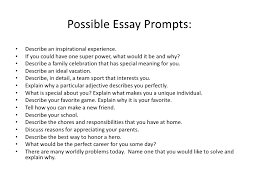 writing prompt essay writing prompts depaul university college of