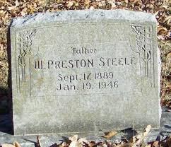 STEELE, WILLIAM PRESTON - Franklin County, Arkansas | WILLIAM PRESTON  STEELE - Arkansas Gravestone Photos