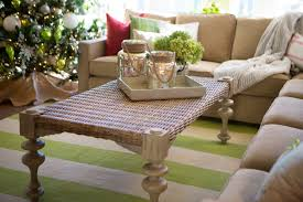 Centerpiece For Coffee Table Pleasant Christmas Living Room Accessories Design Ideas Present