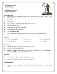 Porter Resume 11 Porter Resume Sample Best Example Daycare
