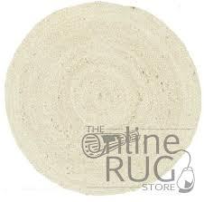 polo bleach jute round