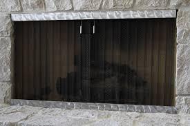custom fireplace screens