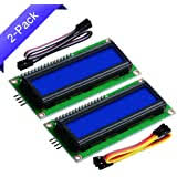 QUAKOI Geekcreit IIC / I2C 1602 Blue Backlight LCD ... - Amazon.com
