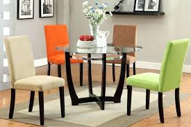 42 inch round dining table set round glass dining table set for 4 glass dining table