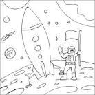 Раскраски по космосу для детей