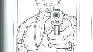Gangster Coloring Pages Hip Hop Coloring Pages Gangster Coloring