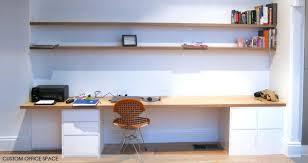 custom office desks for home. Fantastic Built In Office Furniture Ideas Custom Design Home D Desks For