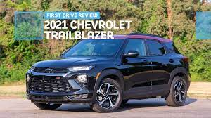 2021 Chevrolet Trailblazer Rs First Drive Review Make New Trax