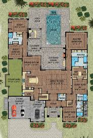 ideas about Mediterranean House Plans on Pinterest    Florida Mediterranean House Plan Level One Great but it has to come   the pool
