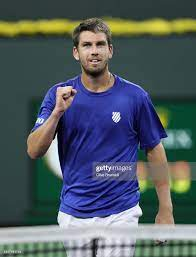 Cameron Norrie of Great Britain celebrates to the crowd after his... Foto  di attualità - Getty Images