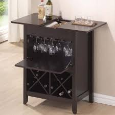small home bars furniture. tuscany modern dry bar and wine cabinet in dark brown small home bars furniture e