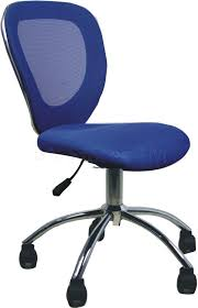 armless office chair in blue loading zoom blue task chair office task chairs