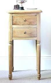 tall side table with drawers side tables tall bedside table with drawers tall narrow bedside table