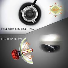 Beste Koop Scandiag H4 9003 Led Koplamp Lamp 8000lm 6000 K 60 W Hb2