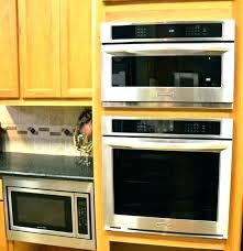 microwave built in kit custom microwave trim kit custom microwave trim kits built in oven wall ovens vintage throughout microwave kitchenaid kmbs104ess 24