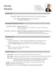 Francais Curriculum Vitae Template Best Business Template