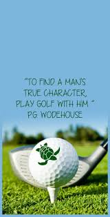 Golf Quotes Adorable PG Wodehouse Golf Quote