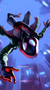 Miles Morales In Spider Man Into The ...