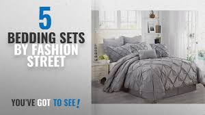 top 10 fashion street bedding sets 2018 fashion street athena 8 piece comforter set queen gray