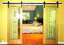 glass bedroom door sliding curtains curta glass bedroom door sliding