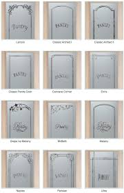 I love frosted glass pantry doors! Bring light into the pantry without  spotlighting the contents