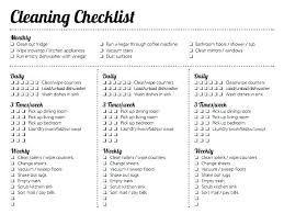 Weekly House Cleaning Schedule Jrpny Co