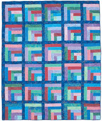 Log Cabin Quilt Patterns Beauteous Maggie's Rainbow Quilt Fons Porter The Quilting Company