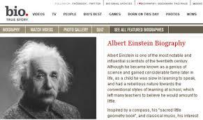 Einstein albert biography