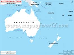 Blank Map Of Australian Continent Australian Continent Outline Map