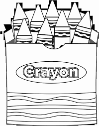crayola crayon coloring pages best modest crayola crayon free coloring pages kins general shape box