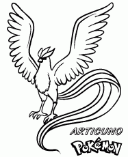 Small Picture De Articuno Colouring Pages In Pokemon Coloring Pages Articuno