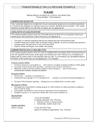 Cover Letter Summary Of Skills Resume Sample Summary Of