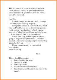 complaint letter examples business letters hr complaint letter business calendars sample