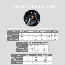 Frye Size Chart Cm Us 137 8 Game Cosplay Evie Frye Cosplay Costume Full Set Adult Women Halloween Carnival Cosplay Outfit Quality In Game Costumes From Novelty
